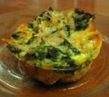 Breakfast Spinach Muffins