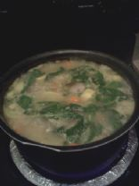 Vegetable & rice soup