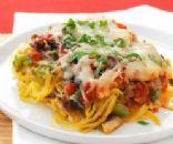 Spaghetti Squash & Tomato Italian Bake
