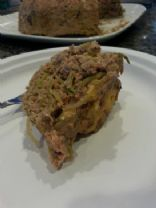 Low carb turkey broccoli meatloaf