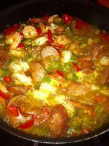 Malu's Shrimp and Kielbasa Gumbo