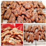 Milly's Italian Nut Cookies ~ AKA Bones ~ Grandma Galasso