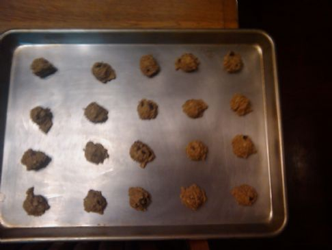 Lo-Cal Dark Chocolate Oatmeal Cookies