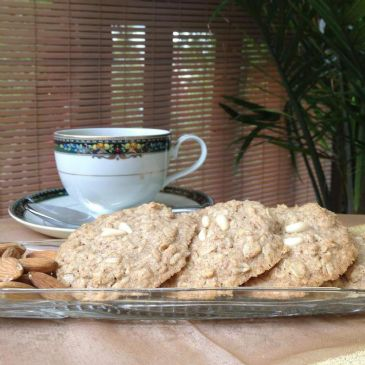 Coconut Almond Anise Kissed Cookies
