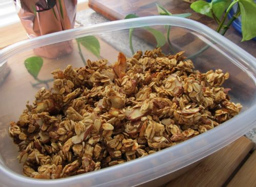 Nearly Fat Free Maple Almond Granola