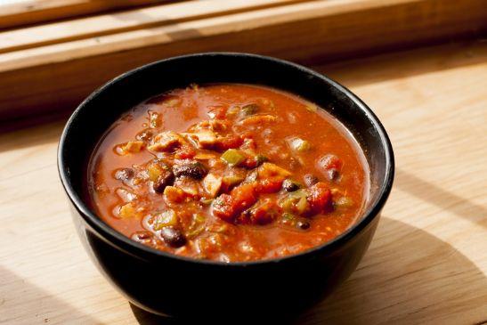 Chicken & Black Bean Chili