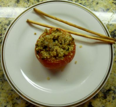 HCG baked stuffed tomatoes
