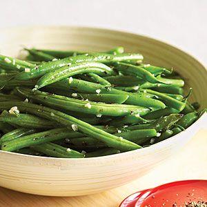 Garlic Snap Green Beans