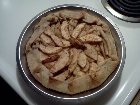 Simple Single Crust Apple Pie