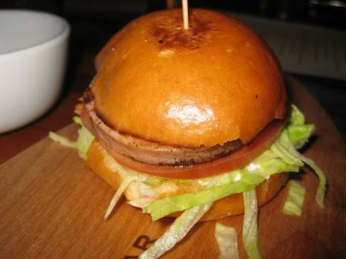 Fried Bologna Slider