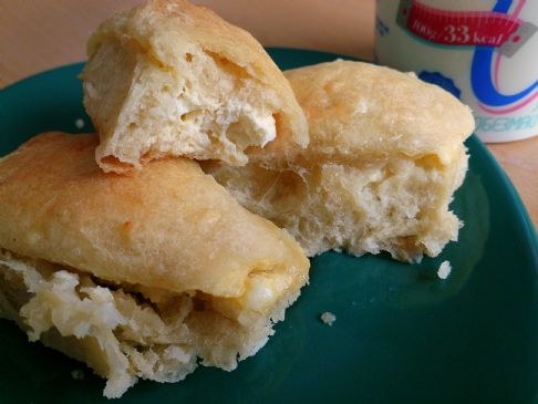 Pechenki (Mom's breakfast or snack feta bread)