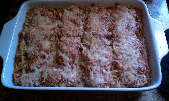 A lighter Chicken Parm