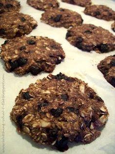 Blueberry, Coconut & Almond Breakfast Cookies