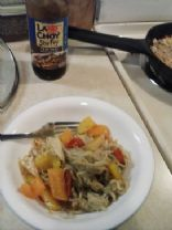 rayne's low carb chicken stir fry