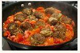 Turkey Meatballs  W/Hearty Tomato Sauce