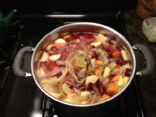 Cabbage-Veggie Soup with Ginger