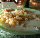 Applesauce Oatmeal