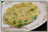 Vegetable Paneer Dosa-Instant