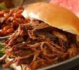 Slow Cooker Pulled BBQ Beef Southern Style