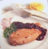 CMR Turkey Cutlets with Cherry Sauce