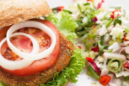 Quinoa Veggie Burger