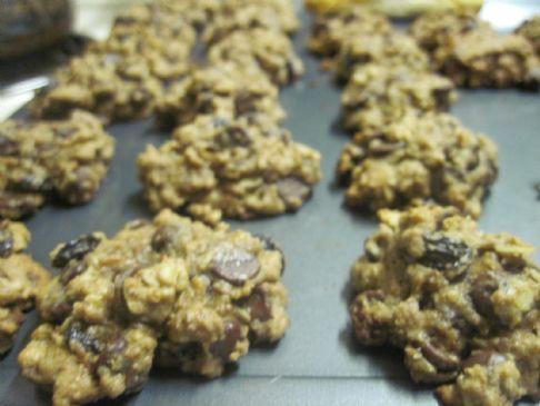 Milk Chocolate Oatmeal Cookies