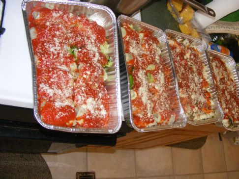 Cabbage Rolls and casserole