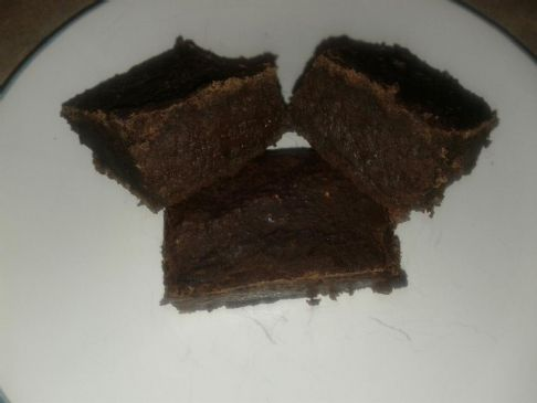 Perfect Black Bean Banana Fudge Brownies