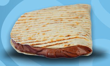 Whole Wheat Nutella Tortilla