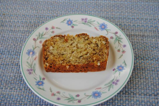 Tropical Vegan Pineapple Banana Bread
