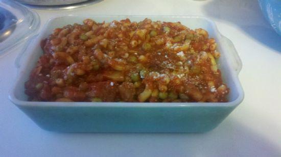 Pasta Con Piselli (Pasta with Peas), Gluten Free
