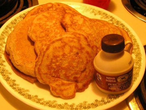Gluten Free Buckwheat Applesauce Pancakes
