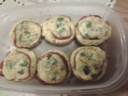 Breakfast Mini Fritata's