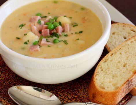 Ham Potato Cheddar Soup