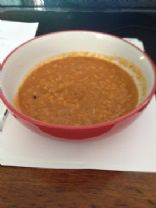 sweet potato, vegetable and rice spicy soup
