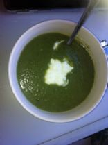 Zucchini and Silver beet Soup