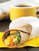 BB - Spinach, Egg and Cheese Breakfast Wrap