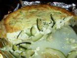 Zucchini Ricotta Tort