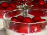 Low Carb NoBake Cherry Cheesecake