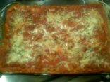 Turkey Sausage & Spinich Lasagna