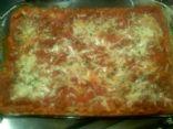 Turkey Sausage & Spinich Lasagna