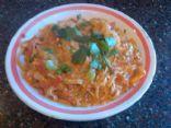 Gluten free Cajun Shrimp Fettuccine