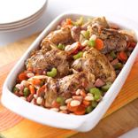 Hearty Chicken and Bean Casserole