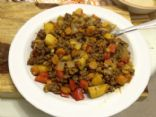 Mabel's Semi paleo Ground beef and veggies!