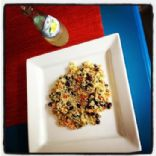 Quinoa & Black Bean Salad with Peppers