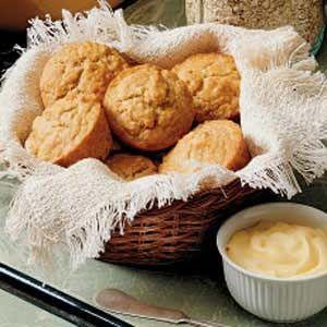 Oatmeal Pecan, Apricot Breakfast Muffins