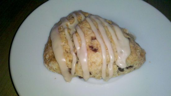 Maple Chocolate Toffee Scones