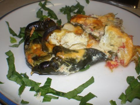 No Hassle Family style Chile Relleno