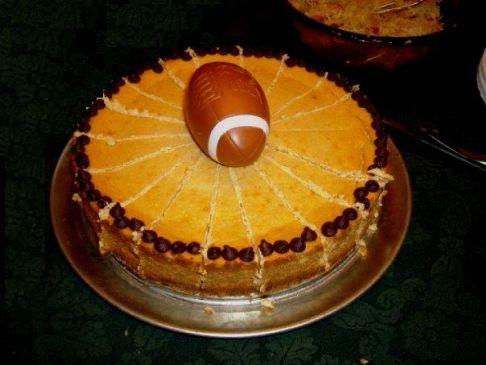 Iris' Pumpkin Cheesecake