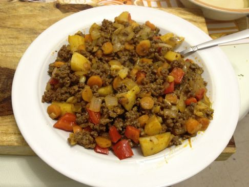 Mabel 39 s semi paleo ground beef and veggies recipe for What to make with hamburger meat for dinner